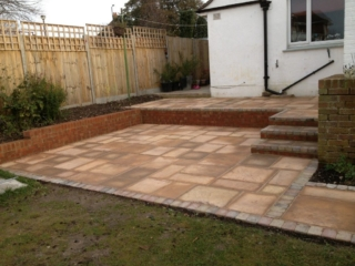 Albion Fencing - Patio & Paving Examples